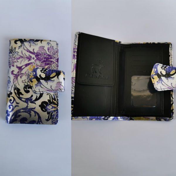 Iso lompakko printtikuviolla